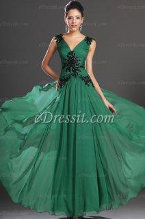 فستان السهرة الأخضرeDressit