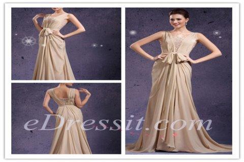 فستان السهرة الظريف الجديد بحمالة الكتف
