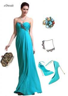 فستان السهرة المطويeDressit