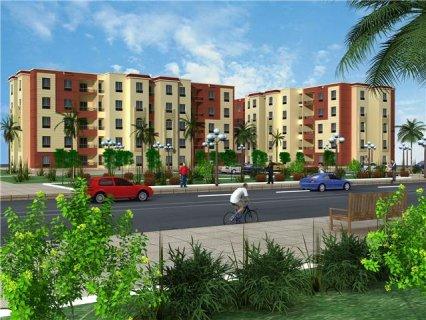 شقة للبيع بكمبوند ( بيت المصرية ) 120م – حدائق اكتوبر