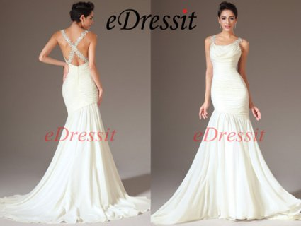 فستان السهرة الأبيض للبيعeDressit
