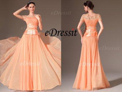 الفستان البرتقالي للبيعeDressit
