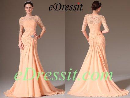 فستان الحفلة البرتقالي eDressit