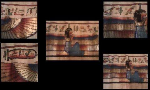 للبيع برديه تقليد لبردية اسطورة الخلق عند قدماء المصريين