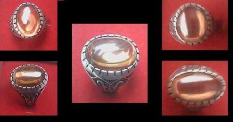 للرجل المتميز للبيع خاتم نادر من البريل السيلانى
