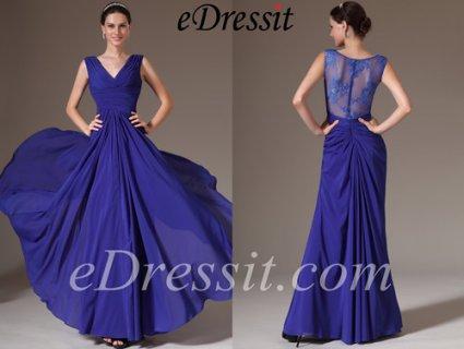 فستان أزرق جديد للبيعeDressit