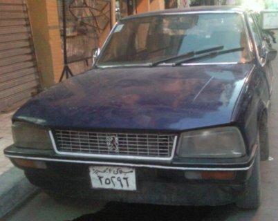 سيارة 604 بيجو موديل 77