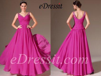 فستان السهرة الجديد