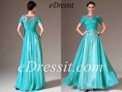 eDressit  فستان السهرة الأزرق