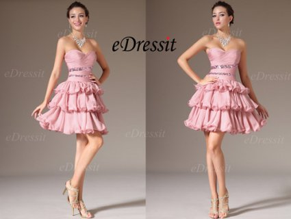 eDressit فستان الحفلة المتعدد الطبقات الرائج