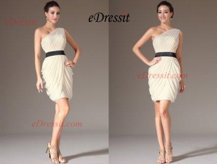 eDressit فستان الكوكتيل الشامباتيا الجديد البسيط