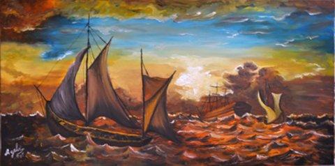 لوحة البحر