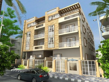 شقة داخل فيلا 145م باقل مقدم وبالتقسيط المريح