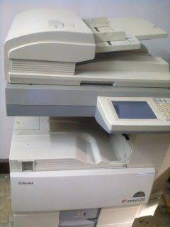 ماكينة تصوير توشيبا استوديو 28 بالبرنتر استعمال نظيف