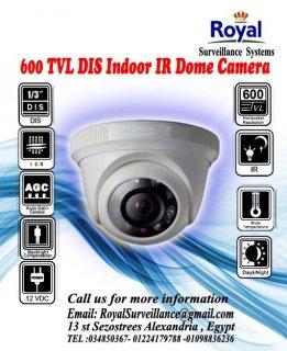 كاميرات مراقبة داخلية 600TVL  ذات مدى رؤية ليلية 20 متر