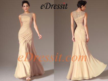 فستان السهرة الشامباتيا الجديدeDressit