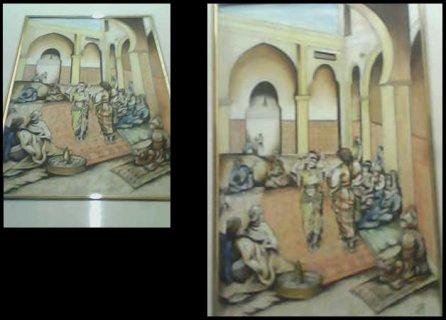 للبيع تابلوه ليالى المماليك للرسامه الايطاليه أيمى بلوتش