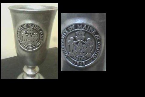 لهواة الغريب والنادر للبيع كأس جامعة أورنو الأمريكيه 1865
