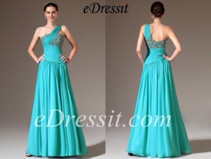 فستان السهرة الأزرق الجديدeDressit