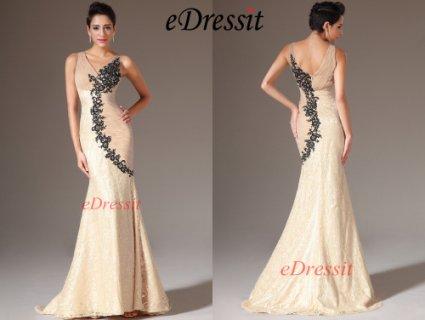 فستان سهرة حورية البحر الشامباتيا الجديد