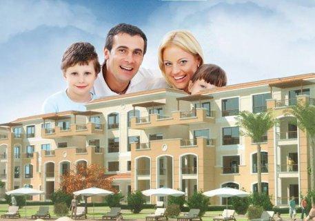 شقة للبيع بكمبوند  بالتجمع الخامس  بالتقسيط على خمس سنوات