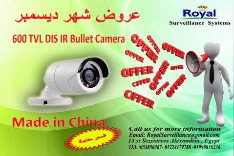 عرض شهر ديسمبر كاميرا مراقبة خارجية ذات رؤية ليلية بجودة عالية