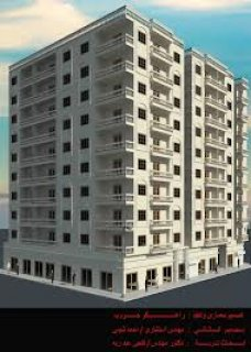 فرصة شقة 104م2 بزهراء مدينة نصر خلف عمارات الضباط