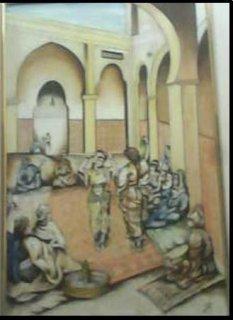 تابلوه ليالى المماليك للرسامه الايطاليه أيمى بلوتش