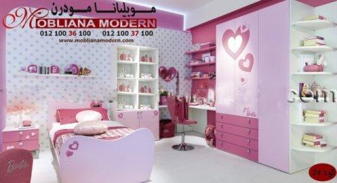 •غرف نوم أطفال كاملة – بنات – أولاد – شركة موبيليانا – أطفال