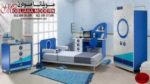 غرف نوم أطفال كاملة – بنات – أولاد – شركة موبيليانا – أطفال
