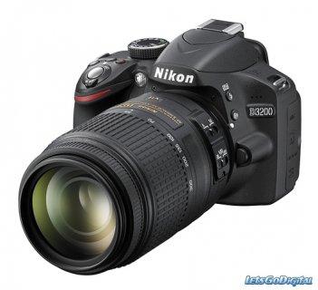 كاميرا نيكون d3200 للبيع 24 ميجا بيكسل