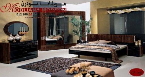 غرف نوم كلاسيكية 2014 _ 2015 _ ديكورات غرف نوم شركة موبيليانا