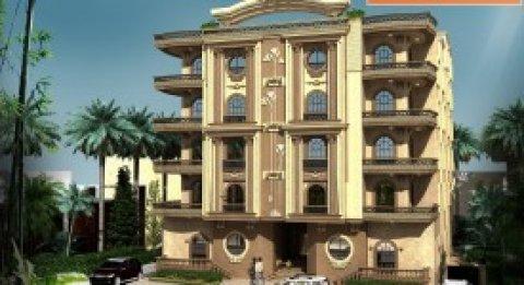 عماره للبيع بالبنفسج عمارات مساحه 645متر نصف تشطيب استلام فوري ا
