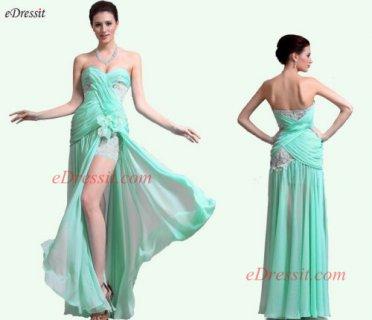 فستان السهرة البهي الجديد
