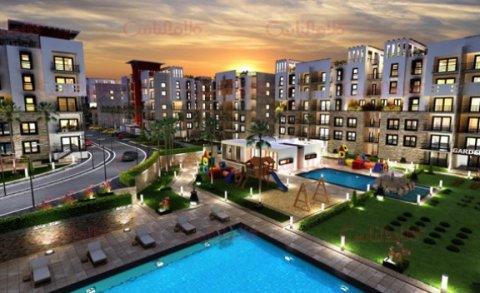 بمقدم 68000ج تملك شقة 110م بكمبوند متميز بالقرب من دائرى المعادى