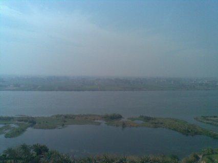 شقه للبيع علي كورنيش النيل مباشر  فيو رائع علي النيل200م ب550الف