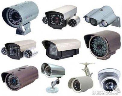 كاميرات مراقبة كبيرة
