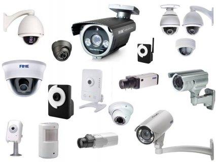 كاميرات مراقبة متنوعة لتلبية كافة احتياجاتكم بمصر