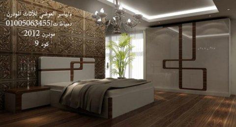 غرف نوم مودرن باللون الابيض - غرف نوم مودرن فاخرة 2014