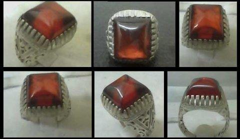 للبيع خاتم قديم من الياقوت الأسترالى