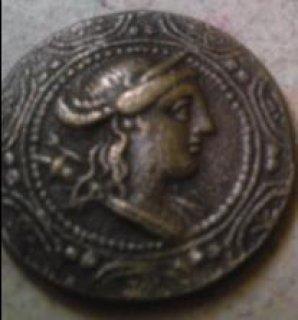 للبيع  عمله مصريه قديمه من العصر الأغريقى