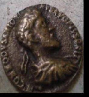 للبيع عملة الأمبراطور الرومانى جستين الملقب بالعظيم