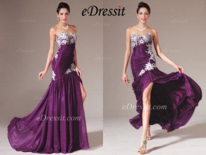 فستان السهرة الجديد العاري الكتفeDressit