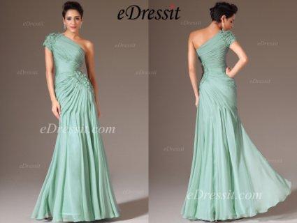 فستان سهرة الفيروزeDressit