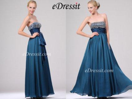 eDressitفستان أزرق للبيع