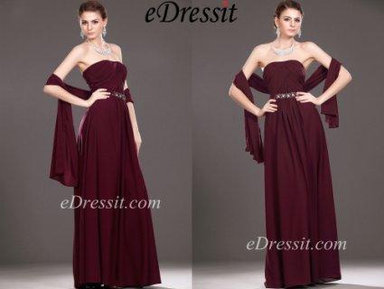 eDressit فستان طويل أنيق جديد لأم العروس