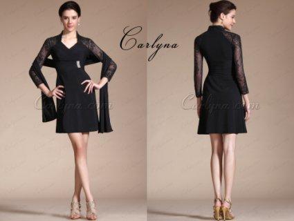 فستان الكوكتيل الأسود الجديد  Carlyna 2014