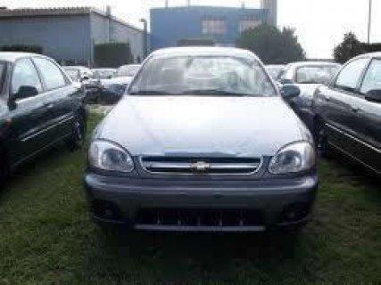 للبيع سيارة شيفورلية لانوس ترخيص  12-2012