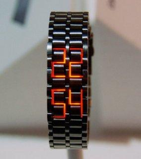 ساعة LED