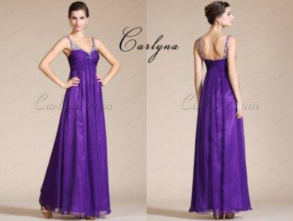 فستان السهرة البنفسيجي الجديدCarlyna
